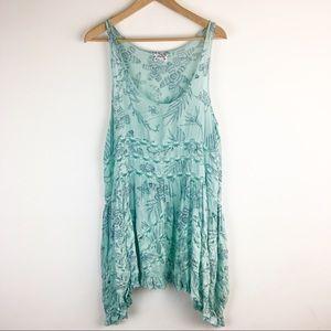Free People | Floral Trapeze Slip Dress